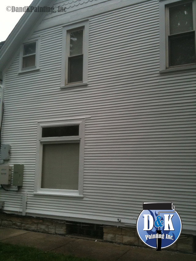 Exterior Paint Job Before And After